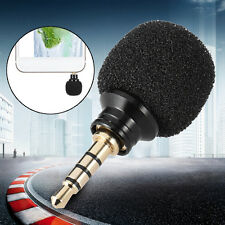 Mini 3.5mm Jack Plug Voice Mic Omni-Directional Microphone For Recorder Phone