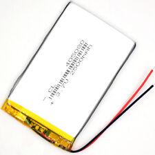 3.7V  2500 mAh 405080 Rechargeable Polymer Battery  Li-Po ion for GPS PSP MP5