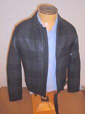 Rag & Bone Wool Blend Vulcan Kingsley Jacket NWT $695 Black & Charcoal Size 38