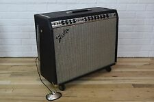 Fender vintage silverface Twin Reverb tube guitar amp-used amplifier for sale