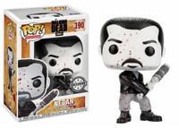 """WALKING DEAD Figurine NEGAN Bloody Black & White FUNKO """"POP"""""""
