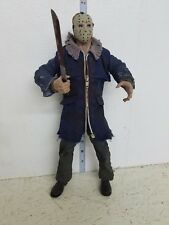 Mezco Cinema of Fear Friday the 13th Jason Voorhees Figure 12in LOOSE blue coat