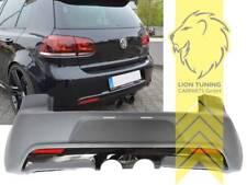 Heckstoßstange Heckschürze für VW Golf 6 Limousine R20 Optik
