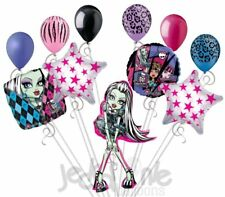 11 pc Monster High Frankie Stein Happy Birthday Balloon Bouquet Party Decoration