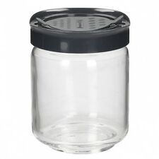 Luminarc Mania Tea Coffee Sugar Cookie Glass Jar Box