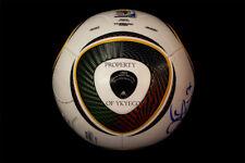 Adidas Soccer Match Used Ball Football Jabulani Fifa World Cup 2010 Mexico - Uru