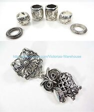 DIY Jewelry Scarves turtle pendant slide scarf rings set
