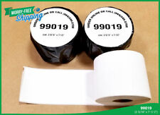 99019 Paper Thermal Rolls Labelwriter Dymo Compatible Twin Turbo Xl Duo Adhesive