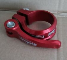 HOPE RED 34.9 QUICK RELEASE SEATPOST CLAMP MOUNTAIN ROAD XC DH CX HYBRID BIKE