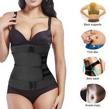 Waist Trainer Neoprene Belt Sweat Body Shaper Tummy Control Girdle For Women Men