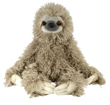 "NEW Wild Republic Cuddlekins 12"" three toed Sloth Soft Toy Cuddly Teddy 12257"