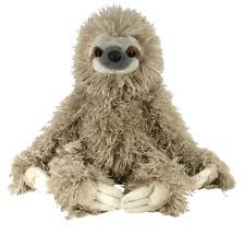 """NEW Wild Republic Cuddlekins 12"""" three toed Sloth Soft Toy Cuddly Teddy 12257"""