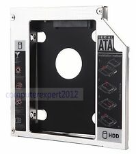 2nd HDD SSD Hard Drive SATA Caddy for HP EliteBook 8460p 8470p 8560p 8570p 8760p