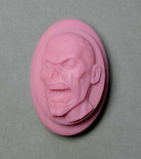ZOMBIE - Soap Silicone Mould, Soap mold skull goth PLASTER CANDLE CLAY WAX