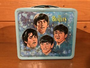 Vintage 1965 Beatles Lunch Box Lunchbox