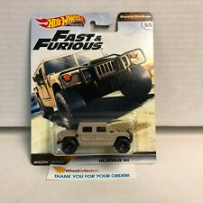 SALE!  Hummer H1 * Hot Wheels Fast & Furious Off-Road * Y30