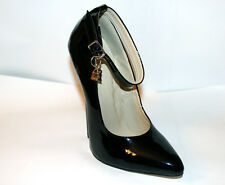 High Heel Pointed Toe 6in Stiletto Sexy Women's Pumps Black US11