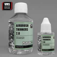 VMS Airbrush Thinner 200 ml + 50 ml SAVER PACK for ACRYLICS Vallejo compatible