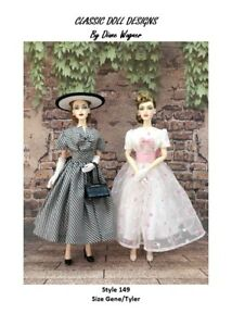 SEWING PATTERN-Style 149 Designer Inspired Dress Gene Tyler
