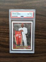 2003 Topps #221 LeBRON JAMES RC Rookie PSA 8 NM-MT 4X CHAMPION