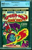 Marvel Team-up #10 CBCS VF/NM 9.0 Off White to White Comics