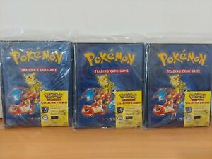 3x Pokemon Trading Card Game Collector's Albums 112 Ultra Pro New C55