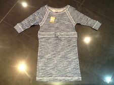 NWT Juicy Couture New & Genuine Blue/White Cotton Blend Knit Dress Girls Age 10
