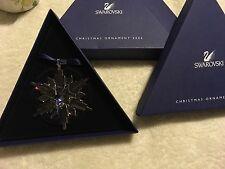 Swarovski 2006 Large snowflake Ornament #837613 Nib