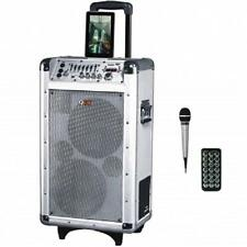 QFX*Portable BATTERY POWERED DJ PA*Bluetooth*PARTY SPEAKER*with FM Radio, USB/SD