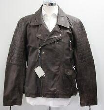 Men's Brown leather jacket (XL).. sample 2873