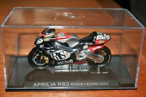 REGIS LACONI APRILIA RS3 2002 1:24 IXO - Rare