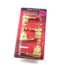 Grover Gold Titan Heavy Duty 2+2 Bass Guitar Tuners Machine Heads 145G