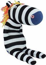 Sockenpuppe Zebra Basteln Selbermachen Sockentier Bastelset Nähen Socke DIY Neu