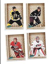 2005-06 Parkhurst 12 Rookie Card Lot (B23) Jim Ladd, Cam Ward, Ryan Getzlaf