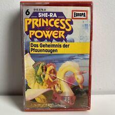 "SHE-RA ""PRINCESS OF POWER"" GERMAN CASETTE #6 DAS GEHEIMNIS DER PFAUENAUGEN"