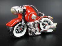 Hucha Moto Bike Máquinas de Carrera Ciclomotor 21 cm, Money Box, Nuevo