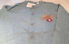 4d373edf8 NFL San Francisco 49ers Football Long Sleeve Shirt Large