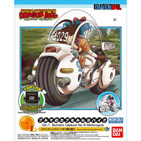 Dragon Ball Mecha Collection Vol.1 Bulma's capsule NO.9 motorcycle Plastic Model