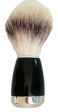 Shaving Brush With Blue Handle  Classic Jack Black Shave Silver Bottom Smooth