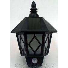 0.5w Potencia Solar Pared Linterna valla jardín lámpara LED de pared con sensor de movimiento
