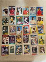 Dave Parker 30 Card Mixed Brands Lot - Pirates, Reds, Brewers & A's