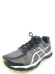 Asics Gel - Kayano 22 Charcoal Men's Running Athletic Training Shoes Size 8 2E *