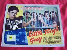 "THE"" DEAD END ""KIDS  LITTLE TOUGH GUY original 1938 MOVIE LOBBY CARD BILLY HALOP"