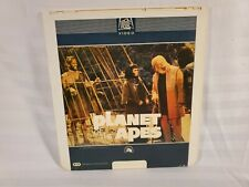 RCA CED SELECTAVISION LASER DISC MOVIE 1967 PLANET OF THE APES