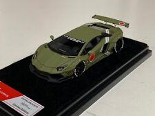 1/64 Lamborghini Aventador Liberty walk LB Performance Army Green
