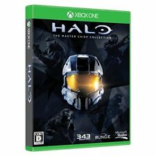 New Xbox one Halo: The Master Chief Collection Limited Edition Japan Import