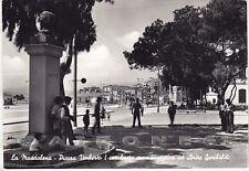SASSARI OLBIA TEMPIO LA MADDALENA 11 MONUMENTO ANITA GARIBALDI Cartolina viagg.