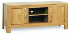 Cotswold solid oak living room furniture low television cabinet stand unit