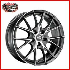 "Cerchio in lega OZ MSW 25 Matt Titanium Full Polished 19"" Bmw SERIE 5"