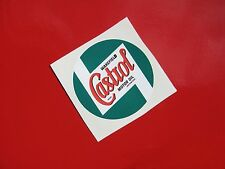 CASTROL WAKEFIELD sticker/ decal x2